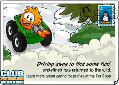 Puffle Running