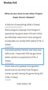 Bye parties
