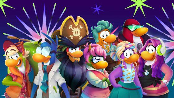 Club Penguin Island Mascots