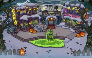 Planned Town for the Halloween Party 2017