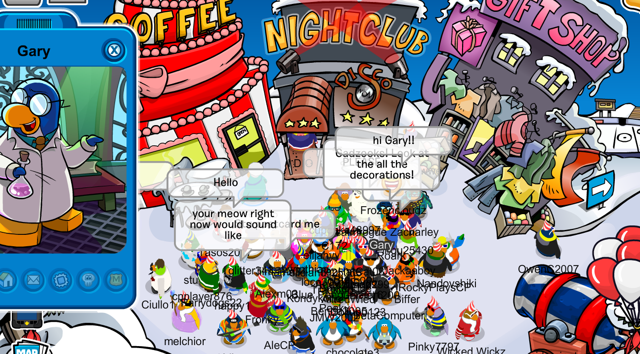 Club penguin rewritten anniversary u club penguin mountains