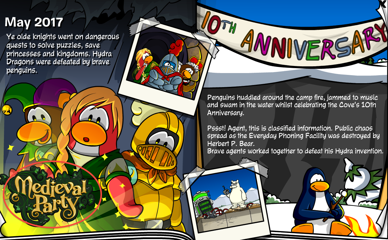 Cp rewritten st anniversary party u full guide u club