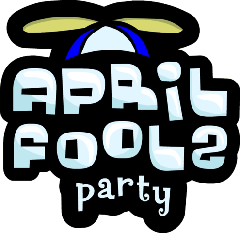 logo for april fools