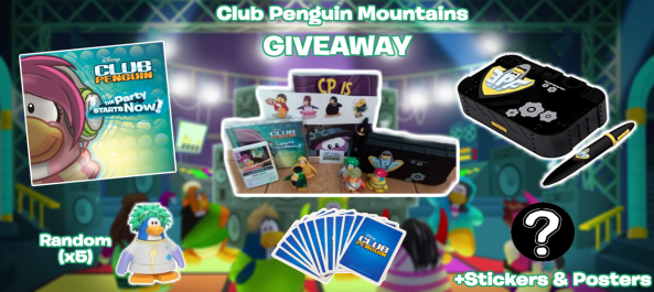 Thank you for a million views! (Giveaway) – Club Penguin Mountains