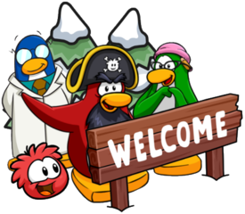 Welcome to Club Penguin Mountains!