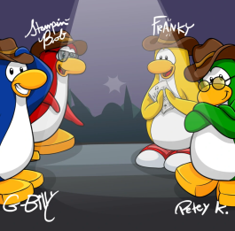 CP Rewritten: Penguin Band's Stage Giveaway – Club Penguin Mountains